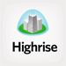 JangoMail has an integration with the highrise CRM.