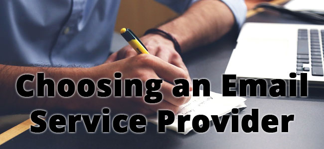 How to choose an email service provider, or ESP.